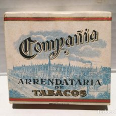 Paquetes de tabaco: ANTIGUO PAQUETE DE TABACO COMPAÑIA ARRENDATARIA ESPECIALES. Lote 143932766