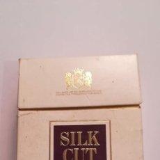 Paquetes de tabaco: PAQUETE DE TABACO SILK CUT ( VACIO ). Lote 144039658