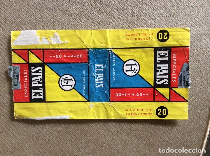 ANTIGUO PAQUETE DE TABACO EL PAIS (Coleccionismo - Objetos para Fumar - Paquetes de tabaco)