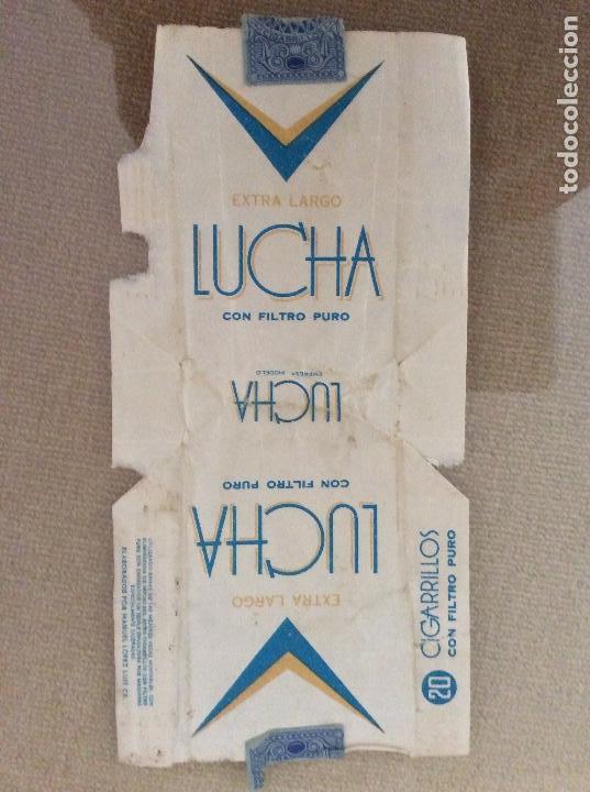 ANTIGUO PAQUETE DE TABACO LUCHA (Coleccionismo - Objetos para Fumar - Paquetes de tabaco)