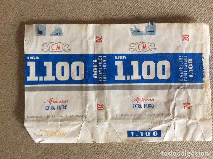 ANTIGUO PAQUETE DE TABACO 1100 (Coleccionismo - Objetos para Fumar - Paquetes de tabaco)