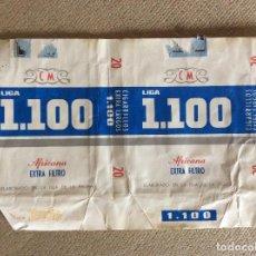 Paquetes de tabaco: ANTIGUO PAQUETE DE TABACO 1100. Lote 144229258