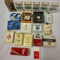 Paquetes de tabaco: LOTE DE 21 PAQUETES DE TABACO SIN ABRIR. . Lote 145480086
