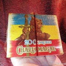 Paquetes de tabaco: CHARLEMAGNE PAQUETE DE TABACO ENTERO MUY DIFICIL-PRECINTADA. Lote 146294810