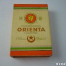 Paquetes de tabaco: ORIENTA. ANTIGUA CAJETILLA DE 12 CIGARRILLOS. VACIA.. Lote 146544170
