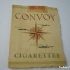 Paquetes de tabaco: CONVOY , ANTIGUO PAQUETE DE TABACO. VACIO.. Lote 146549514
