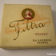 Paquetes de tabaco: LAURENS ORIENT FILTRA. CAJETILLA DE 20 CIGARRILLOS VACIA. Lote 146550574