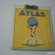Paquetes de tabaco: ATLAS, ANTIGUO PAQUETE DE TABACO DE 20 CIGARRILLOS . VACIO.. Lote 146550954