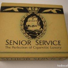 Paquetes de tabaco: SENIOR SERVICE , ANTIGUA CAJETILLA DE 20 CIGARRILLOS . VACIA.. Lote 146553778
