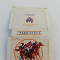 Paquetes de tabaco: ANTIGUO ENVOLTORIO PAQUETE DE TABACO CIGARRILLOS GANADOR. Lote 146700357