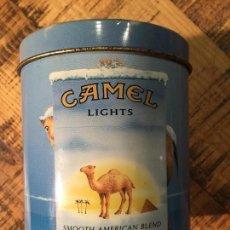 Paquetes de tabaco: LATA CAMEL LIGHTS. Lote 146801550