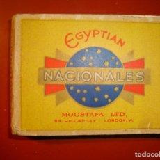 Paquetes de tabaco: EGYPTIAN NACIONALE. Lote 147740142