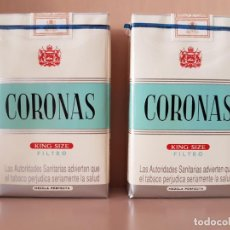 Zigarettenschachteln - LOTE DE 2 ANTIGUOS PAQUETES DE TABACO CORONAS CLÁSICO SIN ABRIR - 148789838