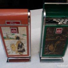 Paquetes de tabaco: PAREJA DE CAJAS DE TABACO CON MÚSICA. Lote 151072926