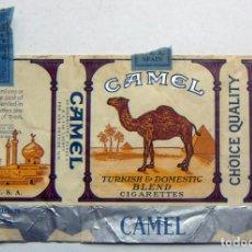 Paquetes de tabaco: ENVOLTORIO DE TABACO MARCA CAMEL. Lote 152063410