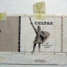 Paquetes de tabaco: ENVOLTORIO DE TABACO MARCA CELTAS CORTO. Lote 152063426