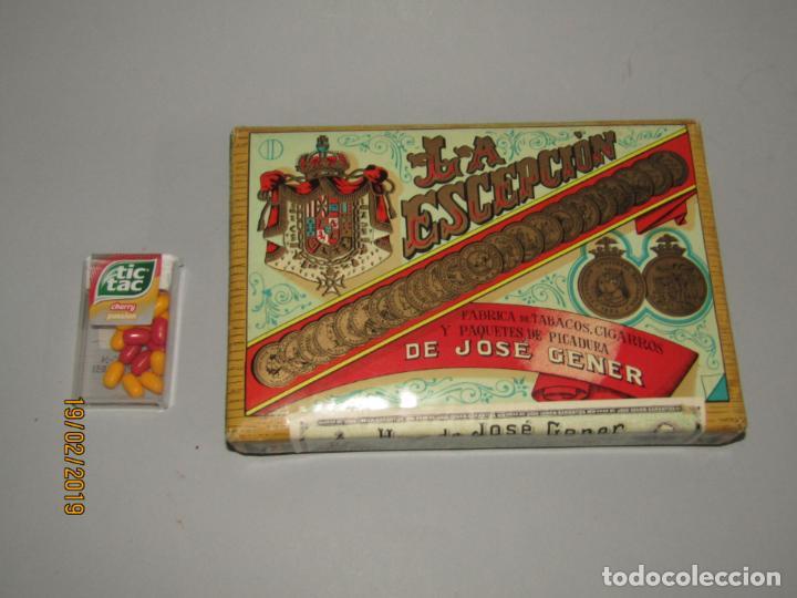 Paquetes de tabaco: Antiguo Paquete Gigante de Picadura Granulada de LA ESCEPCIÓN de Hros. de JOSÉ GENER Habana - Foto 4 - 152211450