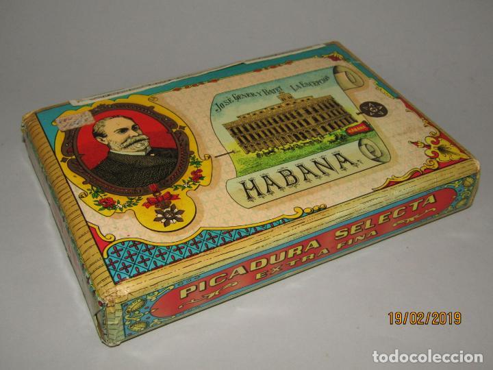 Paquetes de tabaco: Antiguo Paquete Gigante de Picadura Granulada de LA ESCEPCIÓN de Hros. de JOSÉ GENER Habana - Foto 5 - 152211450