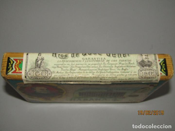 Paquetes de tabaco: Antiguo Paquete Gigante de Picadura Granulada de LA ESCEPCIÓN de Hros. de JOSÉ GENER Habana - Foto 6 - 152211450