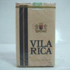Paquetes de tabaco: SIN ABRIR¡¡ TABACO- VILA RICA EXTRA SUAVE - PAQUETE DE TABACO BLANDO- CIGARROS CIGARRILLOS. Lote 152475854