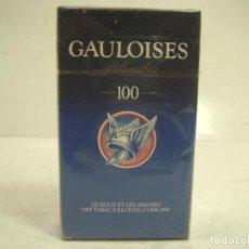 Paquetes de tabaco: SIN ABRIR¡¡ TABACO- GAULOISES BLONDES 100 - PAQUETE DE TABACO DURO - CIGARROS CIGARRILLOS. Lote 152476242