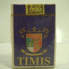 Paquetes de tabaco: SIN ABRIR¡¡ TABACO- TIMIS 20 LUX - PAQUETE DE TABACO BLANDO- CIGARROS CIGARRILLOS. Lote 152476486