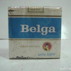 Paquetes de tabaco: SIN ABRIR¡¡ TABACO-BELGA EXTRA LICHT - PAQUETE DE TABACO BLANDO- CIGARROS CIGARRILLOS 2. Lote 152487914