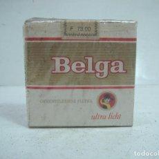Paquetes de tabaco: SIN ABRIR¡¡ TABACO-BELGA ULTRA LICHT - PAQUETE DE TABACO BLANDO- CIGARROS CIGARRILLOS . Lote 152488722