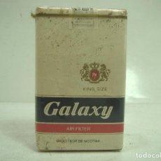 Paquetes de tabaco: SIN ABRIR¡¡ TABACO- GALAXY KING SIZE - PAQUETE DE TABACO BLANDO- CIGARROS CIGARRILLOS. Lote 152488830