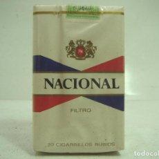 Paquetes de tabaco: SIN ABRIR¡¡ TABACO- NACIONAL FILTRO - PAQUETE DE TABACO BLANDO- CIGARROS CIGARRILLOS. Lote 152490686