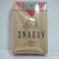 Paquetes de tabaco: SIN ABRIR¡¡ TABACO-SNAGOV FILTRO - PAQUETE DE TABACO BLANDO- CIGARROS CIGARRILLOS. Lote 152490870