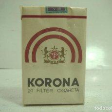 Paquetes de tabaco: SIN ABRIR¡¡ TABACO- KORONA 20 FILTER - PAQUETE DE TABACO BLANDO- CIGARROS CIGARRILLOS. Lote 152491046