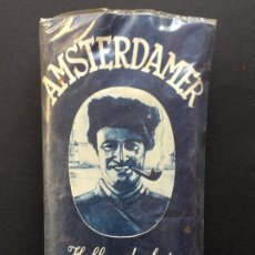 Paquetes de tabaco: PAQUETE DE PICADURA PARA PIPA, SIN ABRIR, AMSTERDAMER, HOLLANDSCHER ROOKTABAK.. Lote 152783602