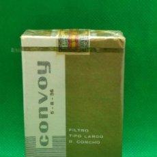 Paquetes de tabaco: PAQUETE DE TABACO CONVOY PRECINTADO UNICO EN TODOCOLECCION. Lote 153880050