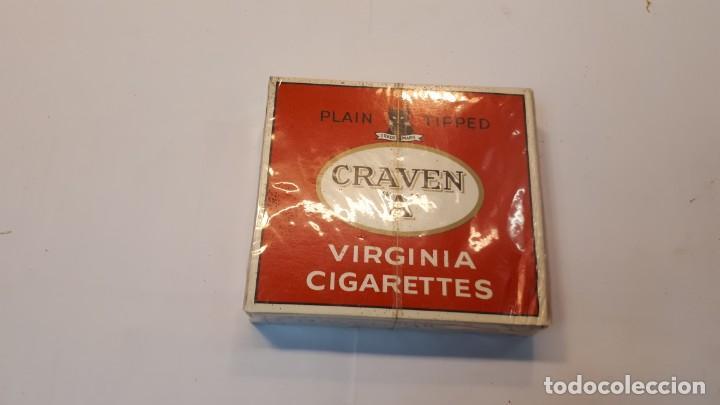 CAJETILLA TABACO GRAVEN A, SIN ABRIR. (Coleccionismo - Objetos para Fumar - Paquetes de tabaco)