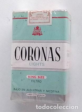 ANTIGUO PAQUETE DE TABACO CORONAS, SIN ABRIR (Coleccionismo - Objetos para Fumar - Paquetes de tabaco)