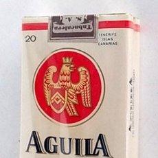 Paquetes de tabaco: ANTIGUO PAQUETE TABACO AGUILA, SIN ABRIR. Lote 158009922