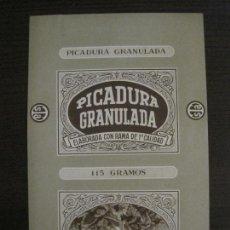 Paquetes de tabaco: PICADURA GRANULADA-TABACALERA S.A.-VER FOTOS-(V-16.261). Lote 158563778