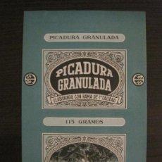 Paquetes de tabaco: PICADURA GRANULADA-TABACALERA S.A.-VER FOTOS-(V-16.262). Lote 158563858