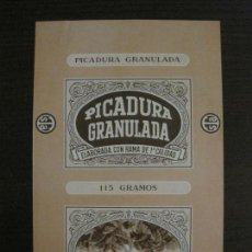 Paquetes de tabaco: PICADURA GRANULADA-TABACALERA S.A.-VER FOTOS-(V-16.263). Lote 158563938