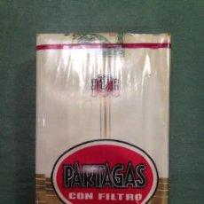 Paquetes de tabaco: PARTAGAS CON FILTRO - NUEVO Y PRECINTADO. Lote 231290035