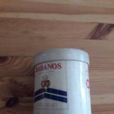 Paquetes de tabaco: LATA HABANOS LARGOS TABACO CIGARRILLOS. Lote 159649737