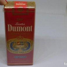 Maços de tabaco: ANITGUO PAQUETE DE TABACO 120`S . SANTOS DUMONT SUPER LENGTH . CON PRECINTO . Lote 159997034
