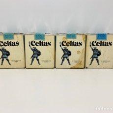 Paquetes de tabaco: CUATRO PAQUETES DE CELTAS. Lote 160017213
