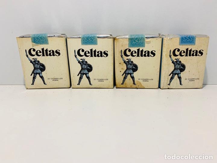 Paquetes de tabaco: CUATRO PAQUETES DE CELTAS - Foto 3 - 160017213