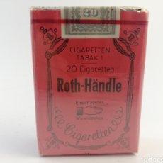 Paquetes de tabaco: PAQUETE DE TABACO ROTH-HANDLE, LLENO SIN ABRIR.. Lote 160532645