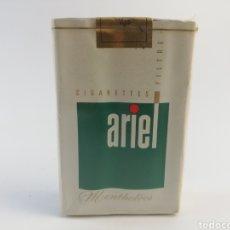 Paquetes de tabaco: PAQUETE DE TABACO ARIEL, FRANCIA, CIGARRILLOS LLENO SIN ABRIR.. Lote 161029357