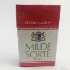 Paquetes de tabaco: PAQUETE DE TABACO MILDE SORTE, CIGARRILLOS LLENO SIN ABRIR.. Lote 161029566