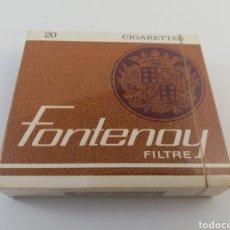 Paquetes de tabaco: PAQUETE DE TABACO FONTENOY FILTRE, FRANCIA, CIGARRILLOS LLENO SIN ABRIR. Lote 161029992