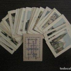 Paquetes de tabaco: VISTAS CIUDADES DEL MUNDO-COLECCION 39 CROMOS-CIGARRILLOS EL PROGRESO-ECUADOR-VER FOTOS-(V-16.428). Lote 161130922